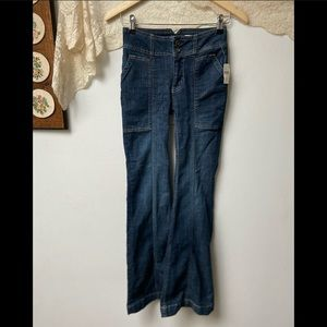 NWT Anthropologie • High Rise Boot Cut Jeans